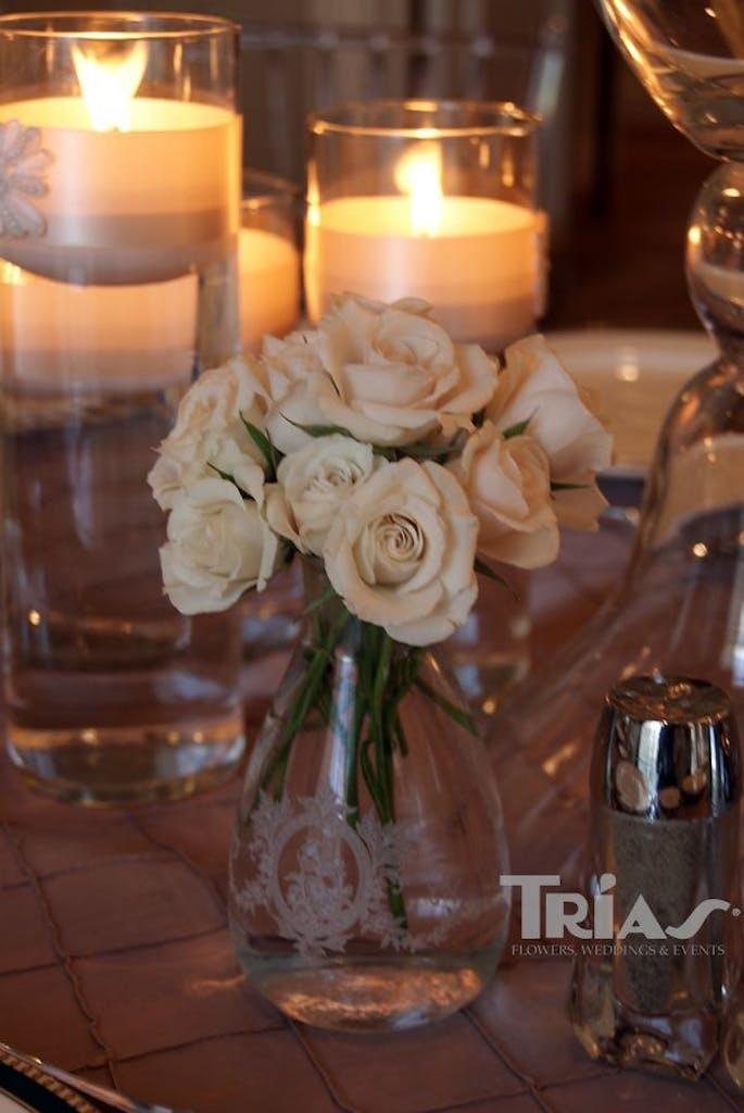 Trias Flowers & Gifts Miami Wedding Salon Bridal Show 2013 Table Setting 3
